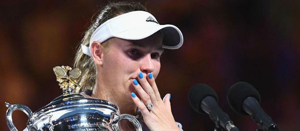 Wozniacki triumphs in Melbourne