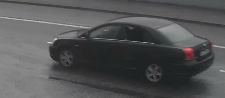 Appeal For Information About Possible Murder Getaway Car