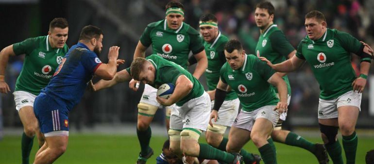 Four changes for Ireland
