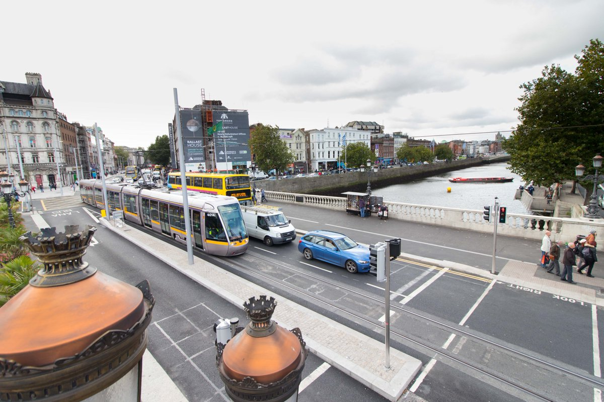 Luas Cross City Under Fire