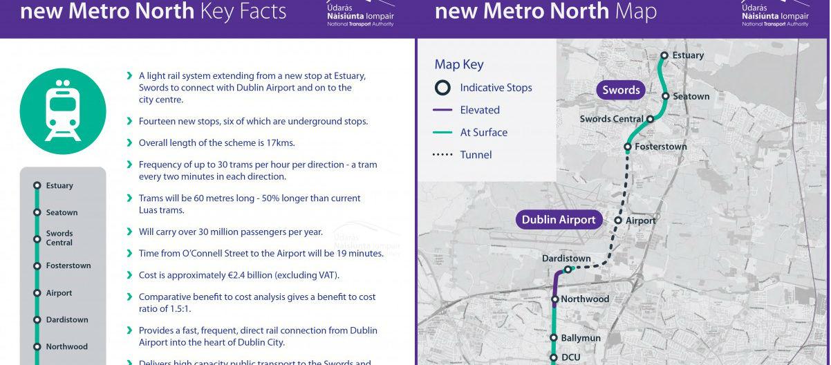 Change To Metro North Plan