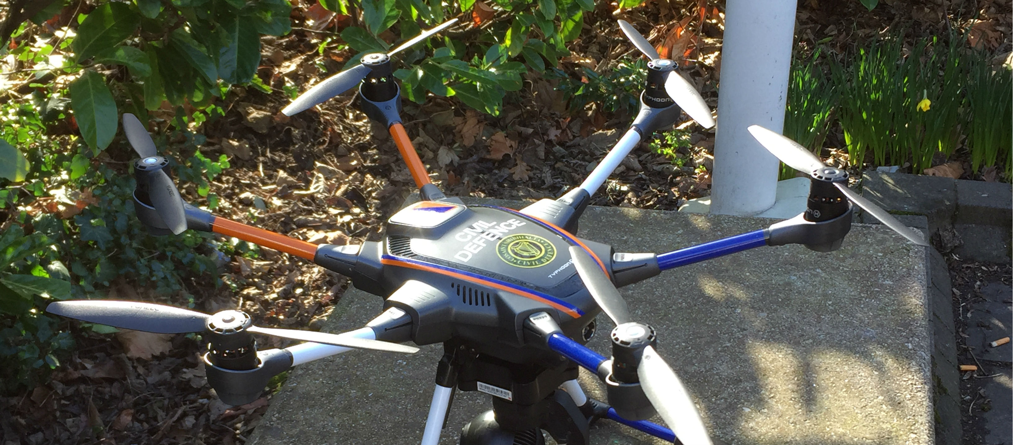 Drones To Patrol Roads And Trams
