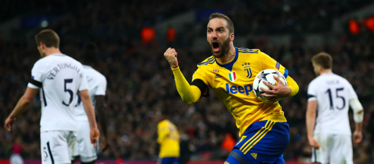 Juve Stun Spurs At Wembley