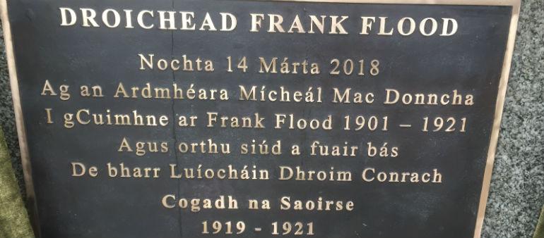 Irish revolutionary commemorated in Drumcondra