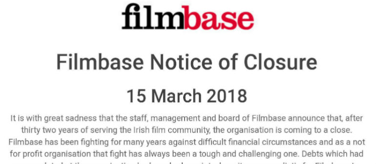 Temple Bar's Filmbase Closes After 32 Years