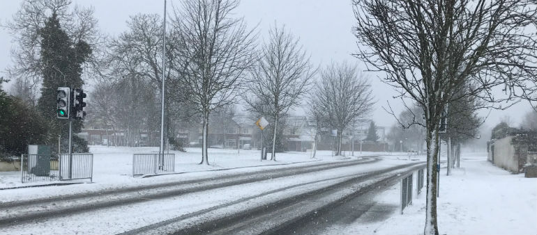 Snow Triggers Power Cuts And Travel Disruption