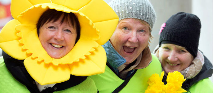 Dig deep for Daffodil Day