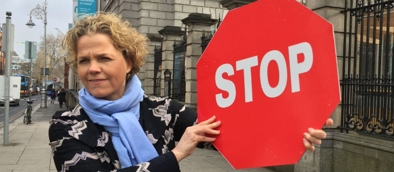 Dail Protest Held Over Sex Exploitation