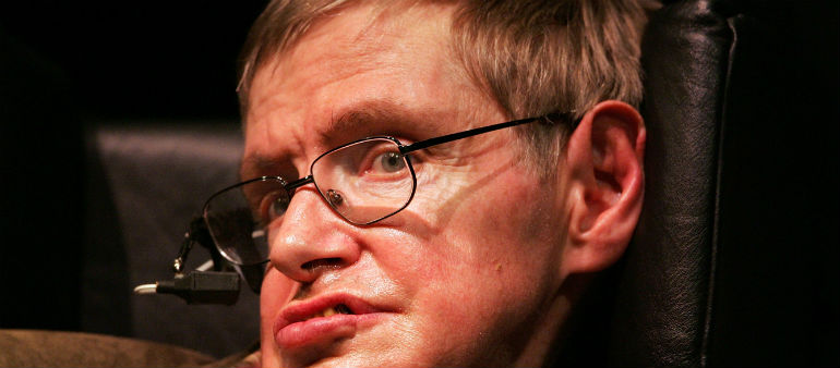 Tributes To Hawking At Funeral
