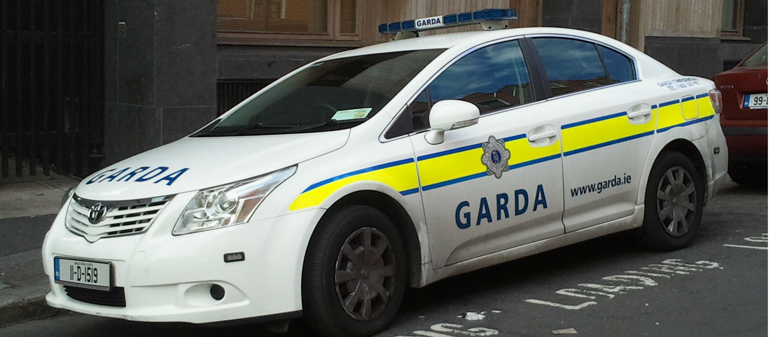 Garda Hit At Checkpoint