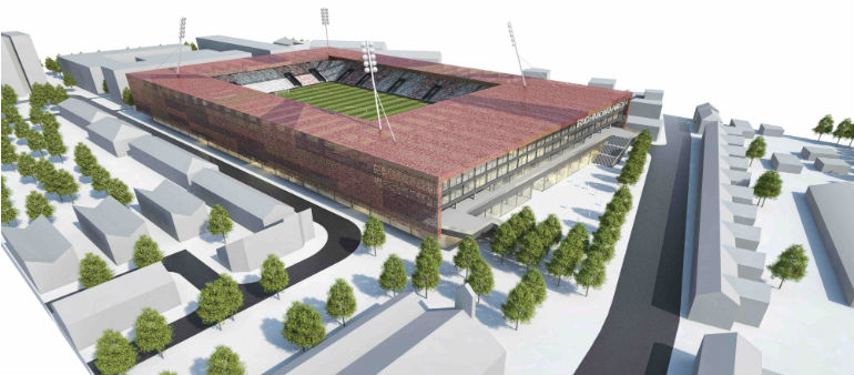 St Pats Reveal Plans For New Stadium And Shopping Centre.