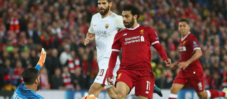 Salah Shines In Anfield Thriller