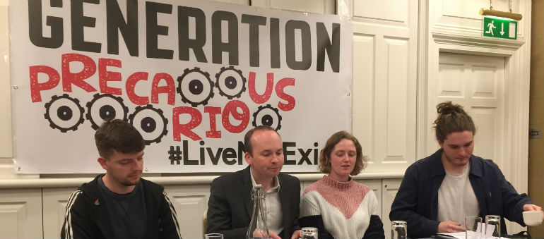 Solidarity Launches 'Generation Precarious'