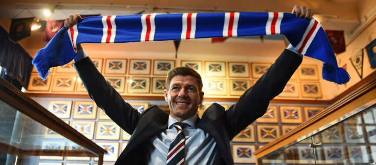 Gerrard had 'special feeling' over Rangers job