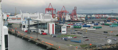 Smuggled Booze Seized at Dublin Port