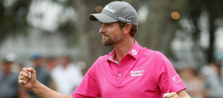 Simpson Wins At Sawgrass