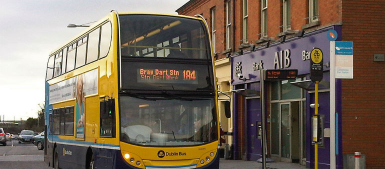 Dublin bus driver attacked in Greystones