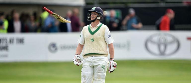 Spirited display from Ireland in first test match