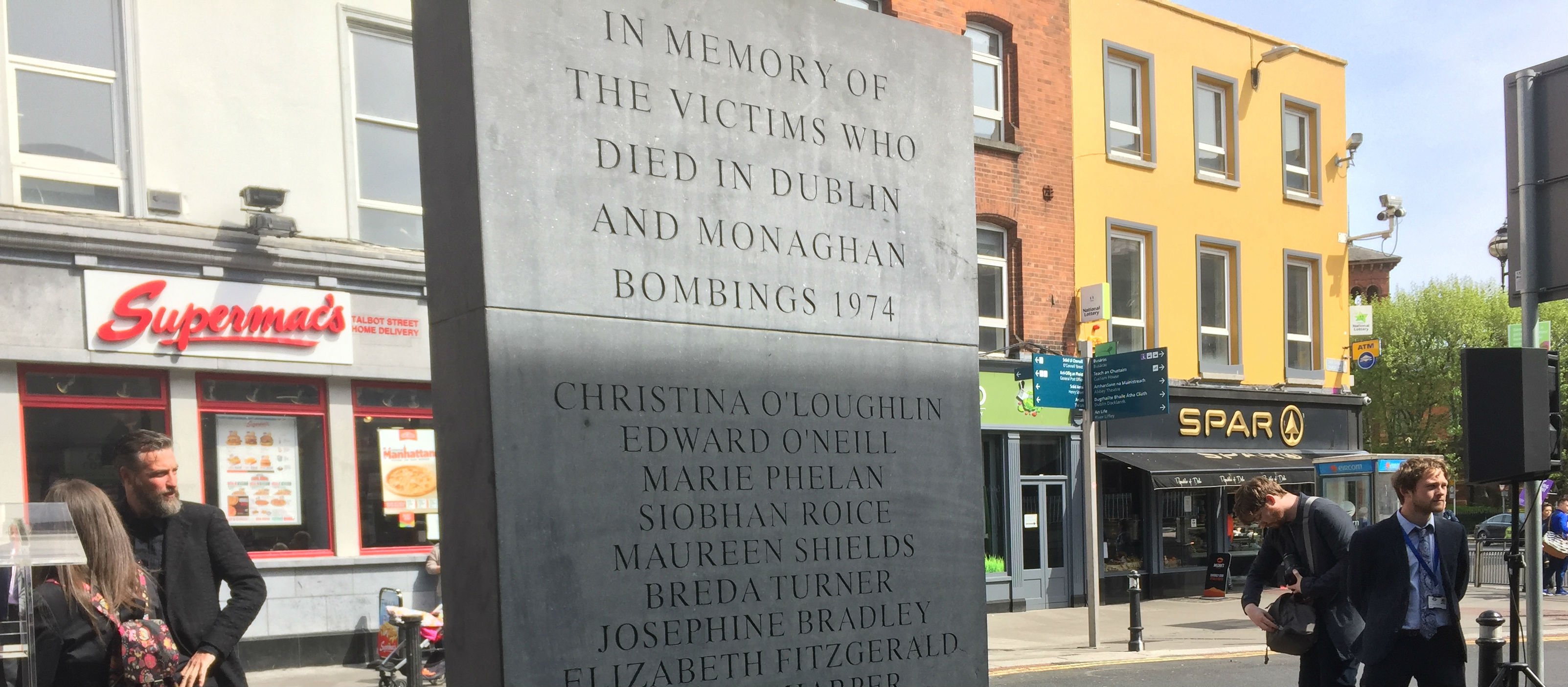 Dublin Monaghan Bombing Victims Remembered