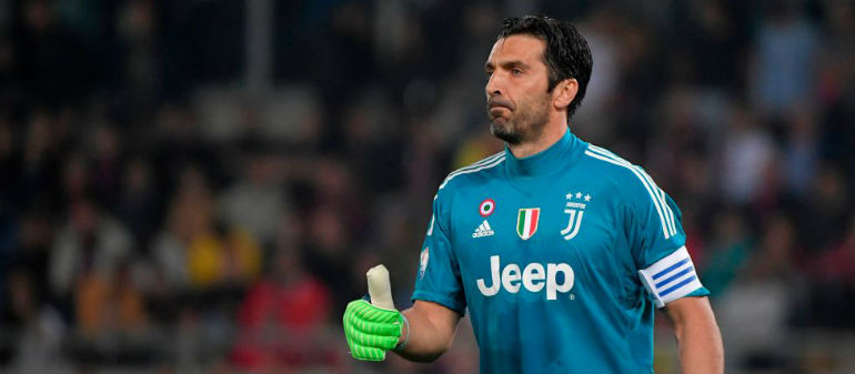 Buffon may play on