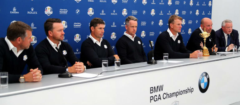 Ryder Cup vice-captaincy for Harrington and McDowell