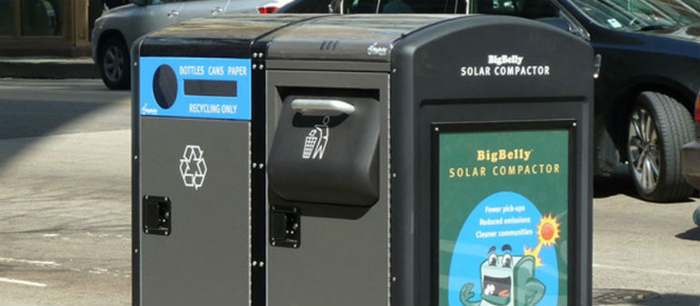 Smart Bins on the way for City Centre