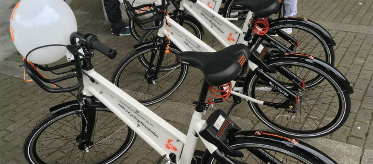 Firm Launches Stationless Bikes