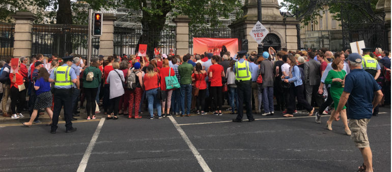 Cervical Check Protest calls for more support