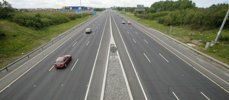 Hundreds Of Motorists In M50 Collisions