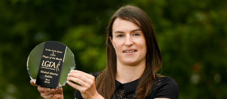 Dublin captain picks up award