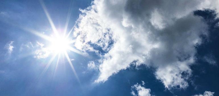 Dublin sizzles in the sun!