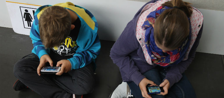 Kids Are Shunning Sport For Smartphones