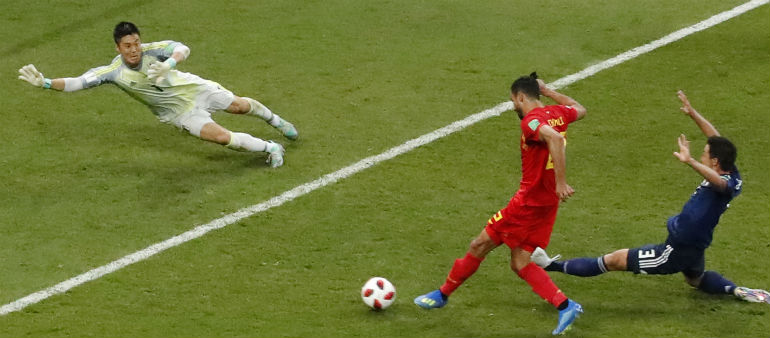 Belgium Stun Japan