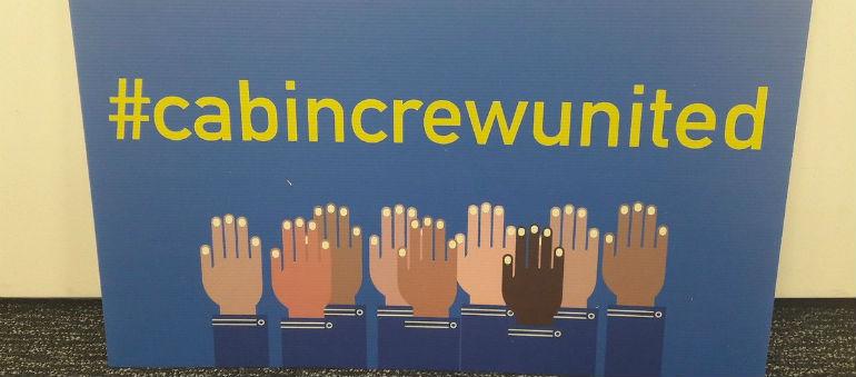 Ryanair Cabin Crew Issue Demands