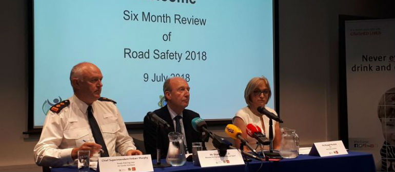 Road fatalities on the rise in 2018