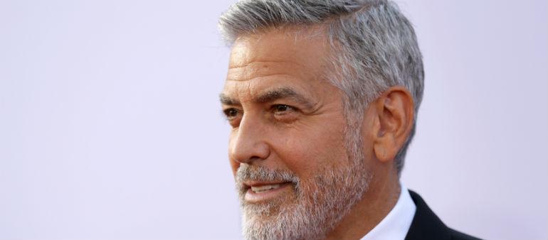 Clooney Injured In Road Crash