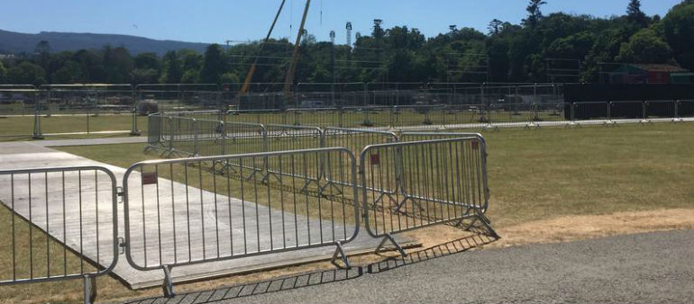 Security Tight For Longitude