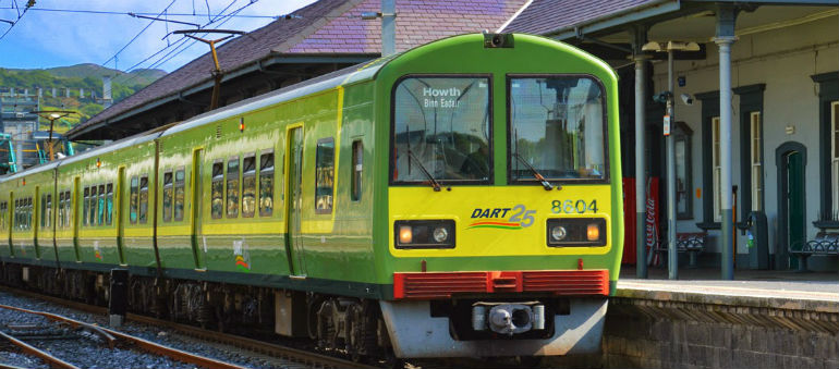 Fire Hits Rail Services