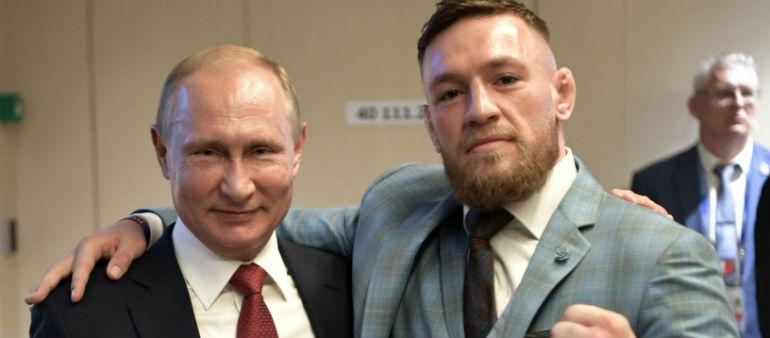 McGregor Criticised Over Putin Comment