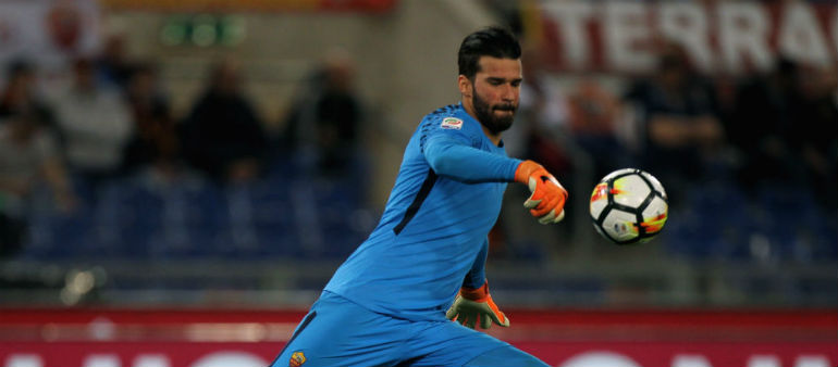 Liverpool close in on Alisson