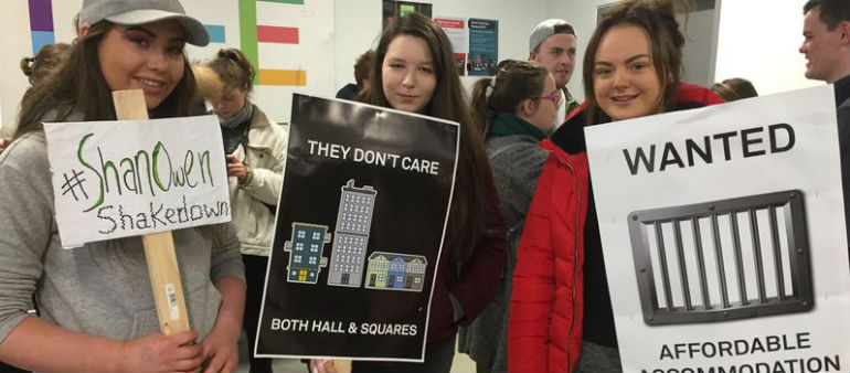 Calls for government to act on rent caps for students