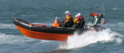 Howth Coast Guard In Cliff Warning
