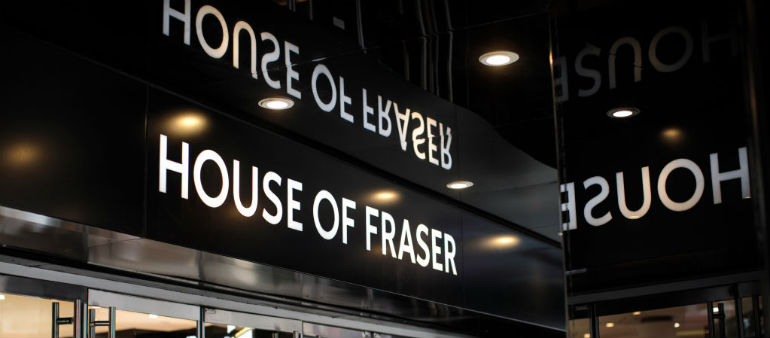 House of Fraser stops accepting gift cards in Dundrum