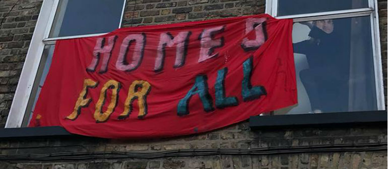 Occupiers Leave Inner City Property
