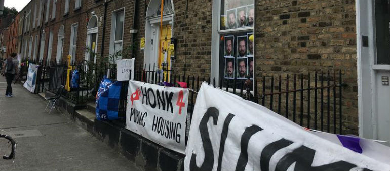 Activists Take Over Second Dublin Property