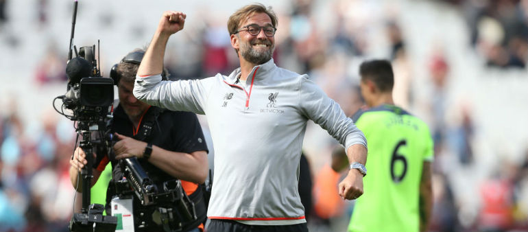 Klopp says momentum key