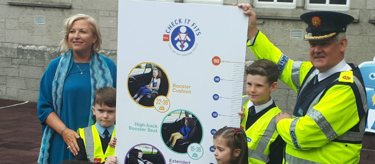 Gardai Highlight Kid Car Safety