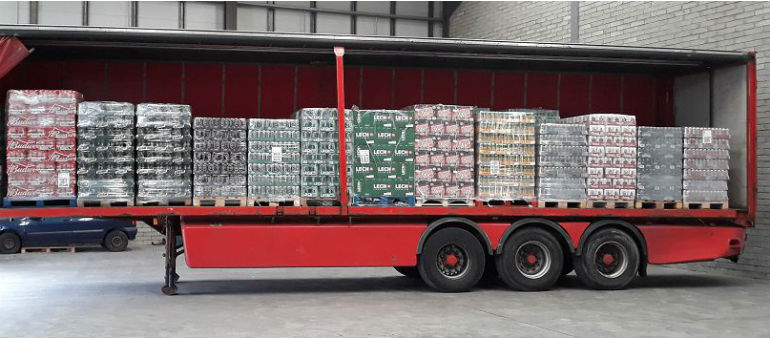 Smuggled Beer Seized At Rosslare