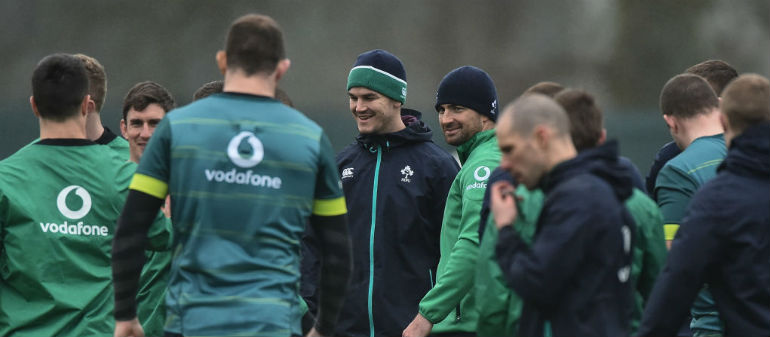 Ireland's Rugby World Cup warm-up games confirmed