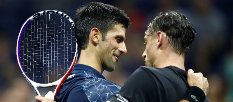 Djokovic Ends Millman Run